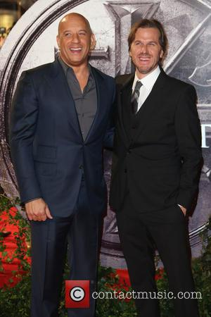 Vin Diesel , Breck Eisner - Premiere of 'The Last Witch Hunter' held at the Empire Leicester Square - Arrivals...