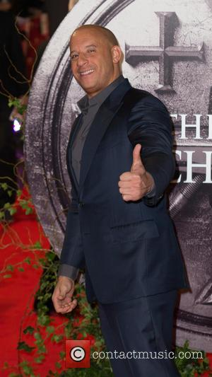 Vin Diesel Is A Flaming Presence At The Last Witch Hunter Premiere