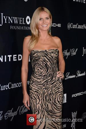 Heidi Klum - 2015 Angel Ball - Red Carpet Arrivals - Manhattan, New York, United States - Tuesday 20th October...