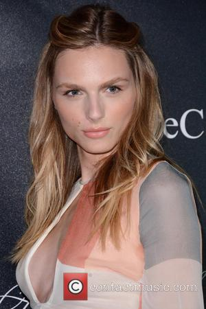 Andreja Pejic - 2015 Angel Ball - Red Carpet Arrivals - Manhattan, New York, United States - Tuesday 20th October...