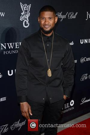 Usher - 2015 Angel Ball - Red Carpet Arrivals - Manhattan, New York, United States - Tuesday 20th October 2015