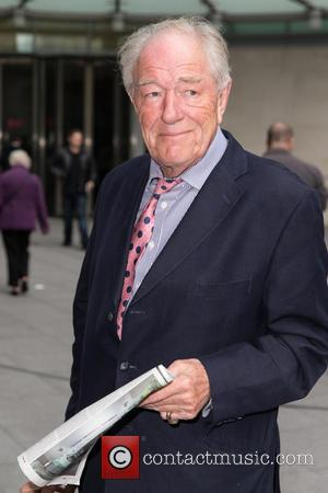 Michael Gambon - Celebrity Sightings in London at BBC Portland Place - London, United Kingdom - Tuesday 20th October 2015