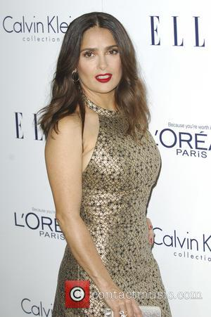Salma Hayek - The 22nd Annual Elle Women in Hollywood - Los Angeles, California, United States - Tuesday 20th October...