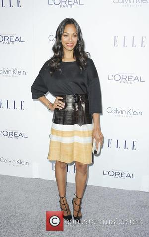 Zoe Saldana - The 22nd Annual Elle Women in Hollywood - Los Angeles, California, United States - Tuesday 20th October...