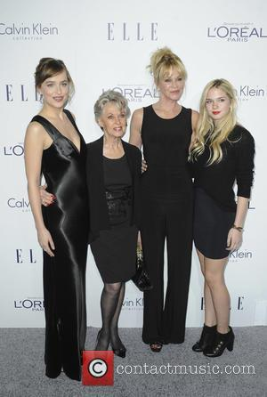 Dakota Johnson, Tippi Hedren, Melanie Griffith and Stella Banderas
