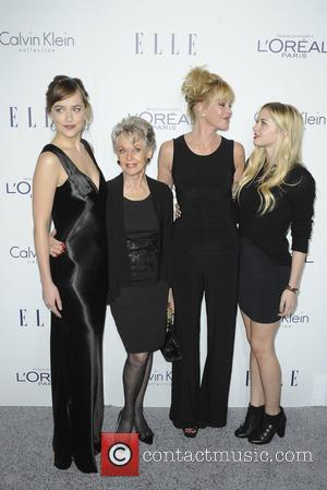 Dakota Johnson, Tippi Hedren, Melanie Griffith , Stella Banderas - The 22nd Annual Elle Women in Hollywood - Los Angeles,...