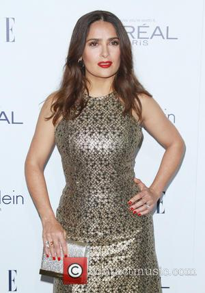 Salma Hayek - Elle Women in Hollywood Awards 22nd Annual Celebration held at the Four Seasons Hotel Beverly Hills -...