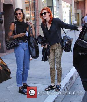Icona Pop, Caroline Hjelt and Aino Jawo