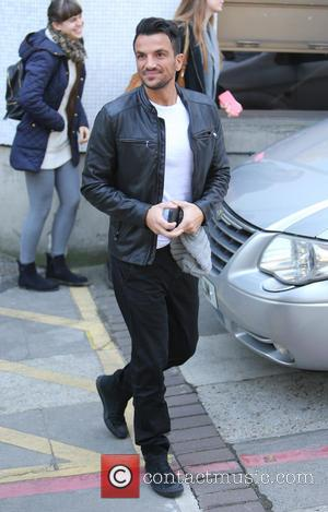 Peter Andre - Peter Andre outside ITV Studios - London, United Kingdom - Tuesday 20th October 2015