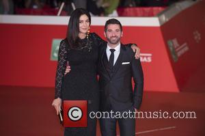 Monica Bellucci , Guy Edoin - 10th Rome Film Festival - Ville-Marie premiere - Red Carpet Arrivals at Auditorium Parco...