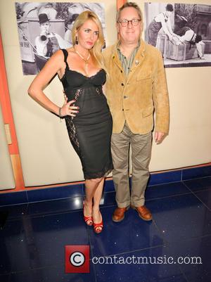 Vic Reeves , Nancy Sorrell - Celebrity guests came to commemorate the 125th anniversary of Stan Laurel's birth. Special celebrity...