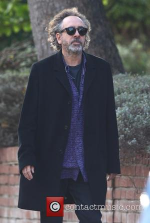 Tim Burton - Tim Burton leaves his home in London at hampstead - London, United Kingdom - Tuesday 20th October...