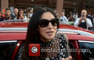 Monica Bellucci - Monica Bellucci leaves the 'Ville-Marie' press conference and photocall during the 10th Rome Film Festival - Rome,...
