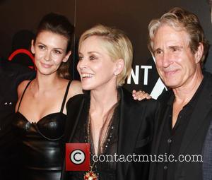Olga Fonda, Sharon Stone and John Shea