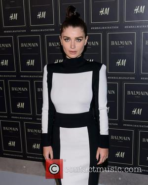 Eve Hewson - The BALMAIN X H&M Collection Launch at 23 Wall Street - Runway and Arrivals - New York,...