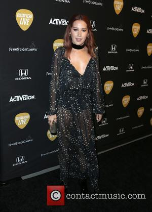 Vanessa Hudgens - Guitar Hero Live's Launch Party at YouTube Space LA - Los Angeles, California, United States - Tuesday...