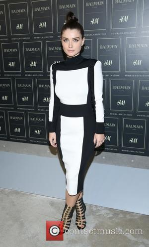 Eve Hewson - The BALMAIN X H&M Collection Launch at 23 Wall Street - New York, New York, United States...