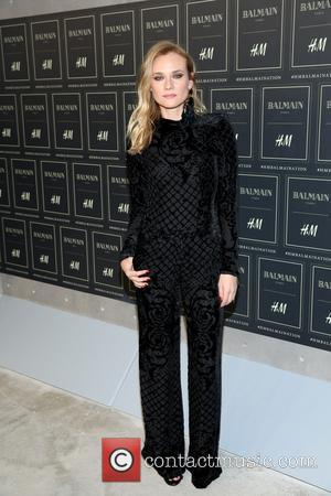 Diane Kruger - The BALMAIN X H&M Collection Launch at 23 Wall Street - New York, New York, United States...