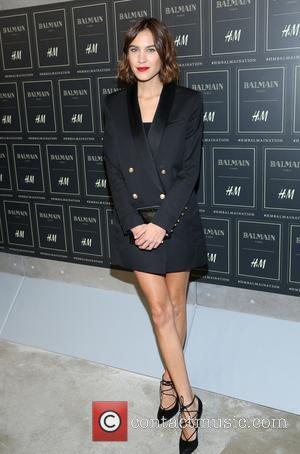 Alexa Chung - The BALMAIN X H&M Collection Launch at 23 Wall Street - New York, New York, United States...