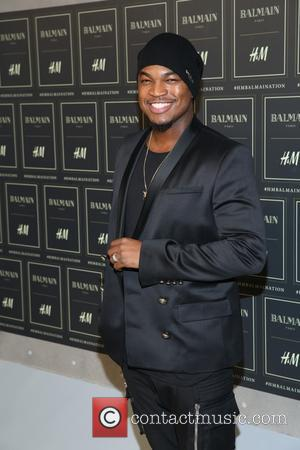 Ne-Yo - The BALMAIN X H&M Collection Launch at 23 Wall Street - New York, New York, United States -...