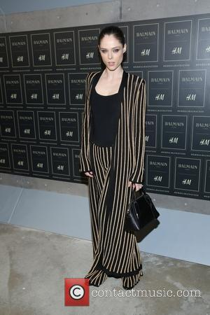 Coco Rocha - The BALMAIN X H&M Collection Launch at 23 Wall Street - New York, New York, United States...