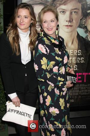 Grace Gummer , Meryl Streep - Premiere of Focus Features' 'Suffragette' - Arrivals at Samuel Goldwyn Theater at AMPAS -...