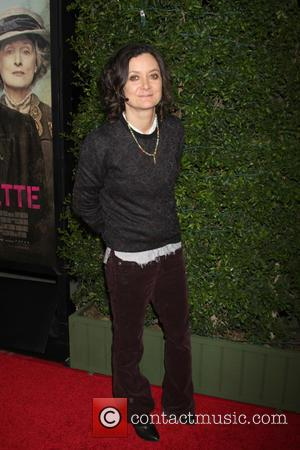 Sara Gilbert - Premiere of Focus Features' 'Suffragette' - Arrivals at Samuel Goldwyn Theater at AMPAS - Beverly Hills, California,...
