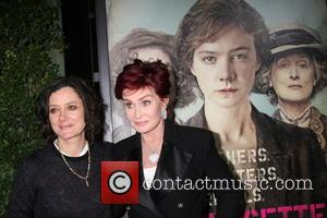 Sara Gilbert , Shaorn Osbourne - Premiere of Focus Features' 'Suffragette' - Arrivals at Samuel Goldwyn Theater at AMPAS -...