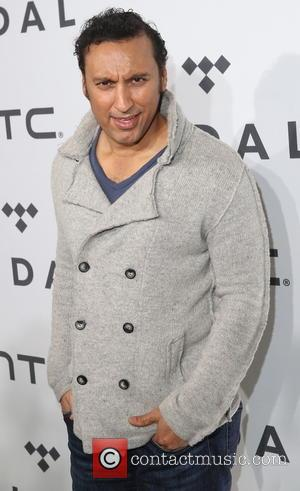 Aasif Mandvi - 1020 Amplified by HTC at Barclays Center of Brooklyn at Brooklyn - New York, New York, United...