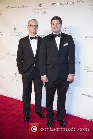 Roger Kluge , Jeffrey Jamison - American Ballet Theatre's 75th Anniversary Fall Gala at David H. Koch Theater 20 Lincoln...