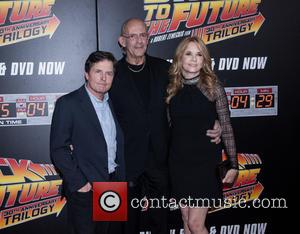 Michael J. Fox, Christopher Lloyd and Lea Thompson