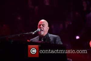 Billy Joel - Billy Joel performing live on stage on his 22nd show in a row at Madison Square Garden...