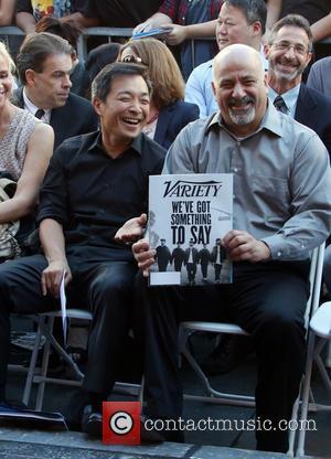 Jim Lee , Scott Snyder - Batman creator Bob Kane posthumously receive the star on the Hollywood Walk of Fame...
