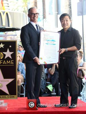 Councilmember Mitch O'Farrell , Jim Lee - Batman creator Bob Kane posthumously receive the star on the Hollywood Walk of...