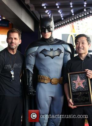 Zack Snyder, Batman , Jim Lee - Batman creator Bob Kane posthumously receive the star on the Hollywood Walk of...