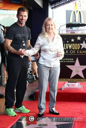 Zack Snyder , Elizabeth Sanders - Batman creator Bob Kane posthumously receive the star on the Hollywood Walk of Fame...