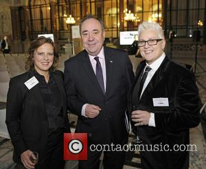 Alex Salmond, Rhona Cameron, Horse Macdonald and Pink