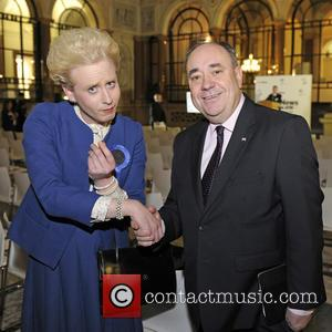 Alex Salmond, Maggie Thatcher Queen Of Soho and Pink