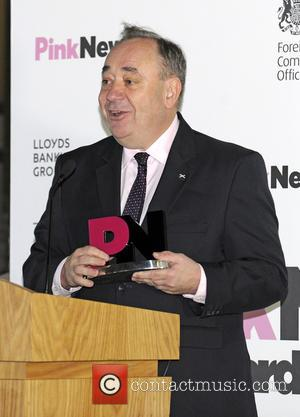 Alex Salmond and Pink