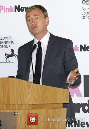 Tim Farron MP - 3rd Annual Pink News Awards at Foreign & Commonwealth Office - London, United Kingdom - Wednesday...