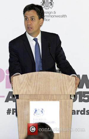 Ed Milliband - 3rd Annual Pink News Awards at Foreign & Commonwealth Office - London, United Kingdom - Wednesday 21st...