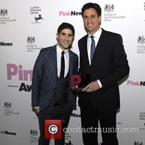 Ben Cohen , Ed Milliband - 3rd Annual Pink News Awards at Foreign & Commonwealth Office - London, United Kingdom...