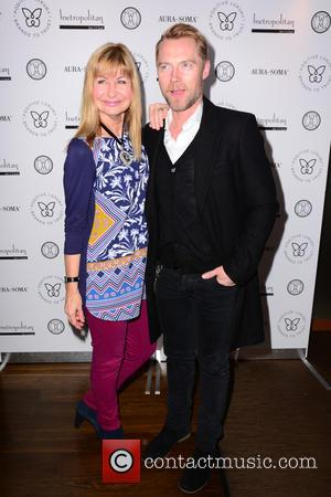 Sian Lloyd and Ronan Keating