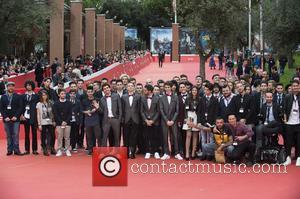 Federico Clapis, Ryan Travis, Guest, Zoda , Leonardo De Carli - 10th Rome Film Festival - 'Game Therapy' - Premiere...