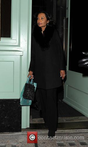 Shakira Caine - Celebrities leaving Sexy Fish restaurant in Mayfair - London, United Kingdom - Wednesday 21st October 2015