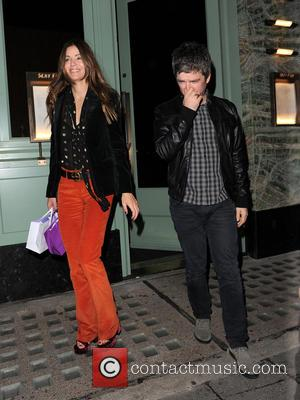 Noel Gallagher , Sara MacDonald - Celebrities leaving Sexy Fish restaurant in Mayfair - London, United Kingdom - Wednesday 21st...