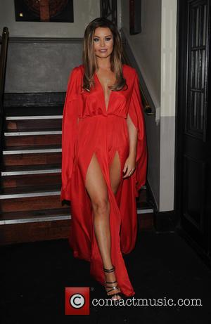 Jessica Wright - The Towie Cast film Michael Hassini James Bond 21st birthday party at Sugar Hut - London, United...