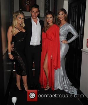 Jessica Wright, Danielle Armstrong, Bobby Norris , Fern mccann - The Towie Cast film Michael Hassini James Bond 21st birthday...