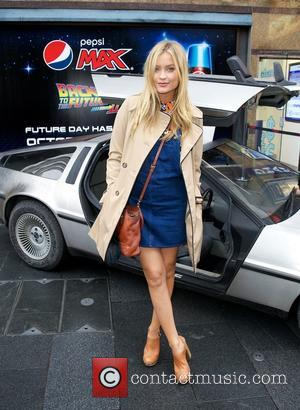 Laura Whitmore - Also in attendance was television personality Laura Whitmore, who posed with Marty & Doc lookalikes Matthew Bell...