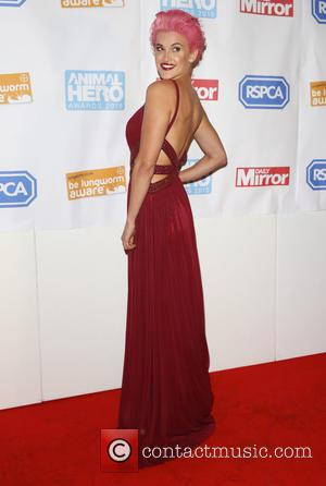 Ashley Roberts - Daily Mirror and RSPCA Animal Hero Awards 2015 - Arrivals - London, United Kingdom - Wednesday 21st...